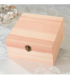 Lillian Rose® Blank Wooden Card Box