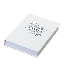 Lillian Rose® The Wedding Ring Book Box