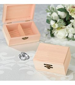 Lillian Rose® Blank Ring Bearer Box