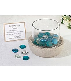 Lillian Rose® Glass Vase For Signing Stone