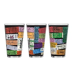 Boelter Brands® The Beatles 2-pk. Tickets Sublimated Glass Pints