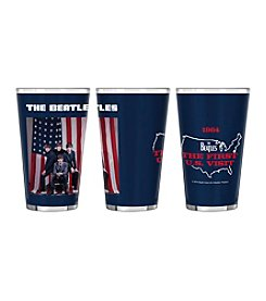 Boelter Brands® The Beatles 2-pk. U.S. Visit Sublimated Glass Pints