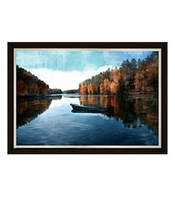 Lonely Lake Framed Art