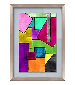 Geometric Pop Framed Art