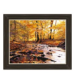 River Of Gold Framed Art