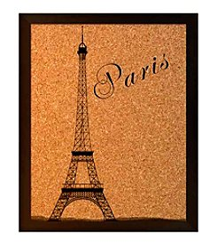 Paris Eiffel Tower Cork Board