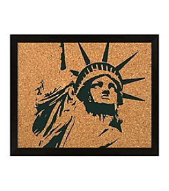 Statue of Liberty Cork Board