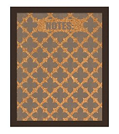 Fleur Pattern Cork Board