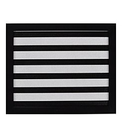 Black and White Stripe Cork Memo Board