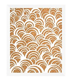 Ocean Curves Cork White Memo Board