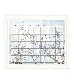 Cherry Blossom Memo Framed Graphic Calendar