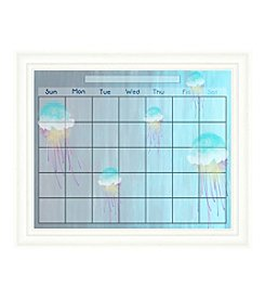 Jellyfish Memo Framed Graphic Calendar
