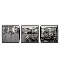 Venice Memories 3-pc. Wall Art