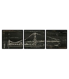 Brooklyn Bridge 3-pc. Wall Art