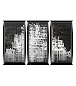 Urban City 3-pc. Wall Art