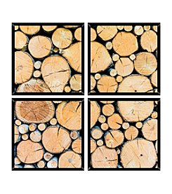 Wood 4-pc. Wall Art