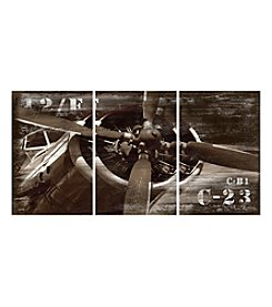 Plane 3-pc. Wall Art