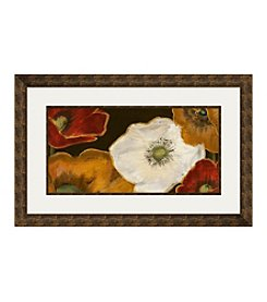 Beautiful Poppies II Framed Graphic