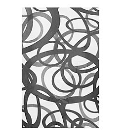 Overlayed Circles Canvas Art