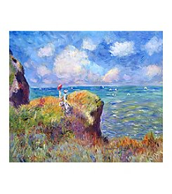 Bluffs of Pourville Canvas Art