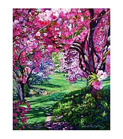 Floral Park Canvas Art