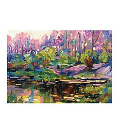 Abstract Landscape Canvas Art