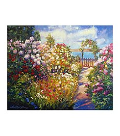 Floral Fantasy Canvas Art