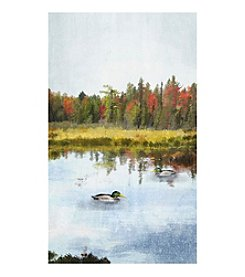 Ducks In The Wild II Canvas Art