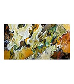 Autumn Abstract Canvas Art