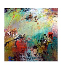 Color Scribbles Canvas Art