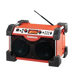 Sangean AM/FM Fatbox Ultra Rugged Digital Rain Resitant Utility Radio
