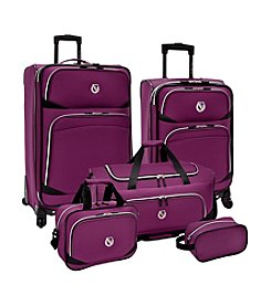 Beverly Hills Country Club® San Vincente 5-pc. Spinner Luggage Set