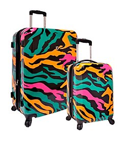 Traveler's Choice® Colorful Camouflage Luggage Collection