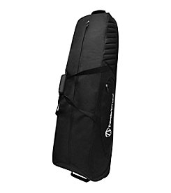 Traveler's Choice® Rolling Black Golf Bag Cover