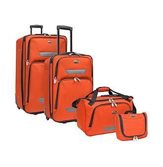 U.S. Traveler® Westport 4-pc. Luggage Set