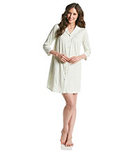 Aria® Knit Sleepshirt - Mint Toss