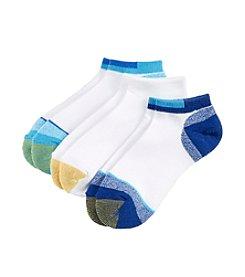GOLD TOE® AquaFX® Marled Sport No Show Socks 3-Pack