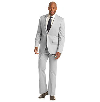 UPC 023804198889 - Kenneth Cole REACTION Men's Grey Slim-Fit Suit ...