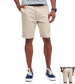 Nautica® Men's Flat Front Twill Shorts