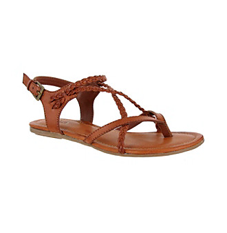 MIA%C2%AE+%22Adrianna%22+Braided+Gladiator+Sandals+-+Luggage