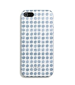 COACH IPHONE 5 CASE IN PAINTED DOT MOLDED PLASTIC