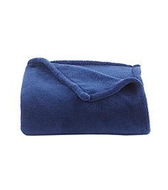 Living Quarters Estate Blue Micro Cozy Throw