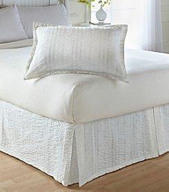 Tommy Hilfiger® Classic Seersucker White Sham or Bedskirt