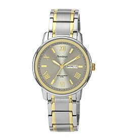 Armitron Men's Day & Date Function Two-Tone Bracelet Watch
