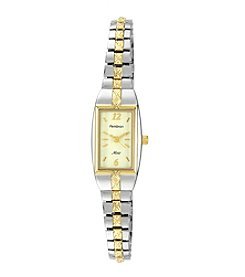 Armitron Women's Two-Tone Expansion Bracelet Dress Watch