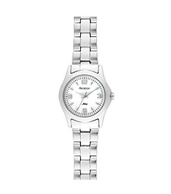 Armitron Women's Mother-of-Pearl Dial Silvertone Bracelet Watch