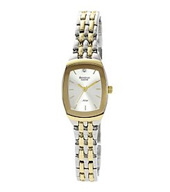 Armitron Women's Diamond Dial Two-Tone Bracelet Watch