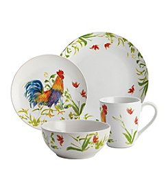 BonJour® Meadow Rooster 16-pc. Dinnerware Set