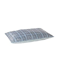 John Bartlett Pet Extra Large Blue Check Pet Bed