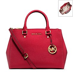 MICHAEL Michael Kors® Sutton Medium Saffiano Leather Satchel